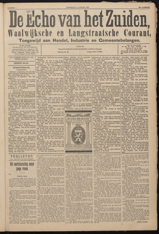 Echo van het Zuiden 1925-01-21