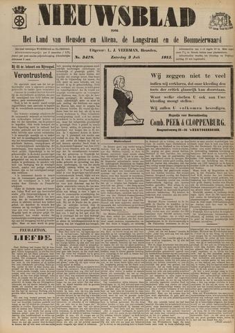 Nieuwsblad het land van Heusden en Altena de Langstraat en de Bommelerwaard 1915-07-03