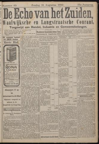 Echo van het Zuiden 1912-08-11