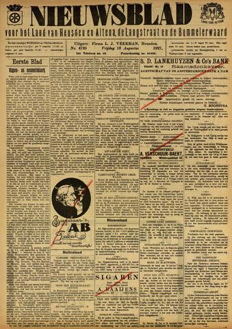Nieuwsblad het land van Heusden en Altena de Langstraat en de Bommelerwaard 1927-08-19