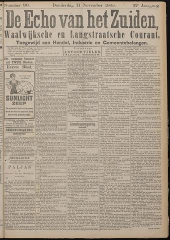Echo van het Zuiden 1909-11-11