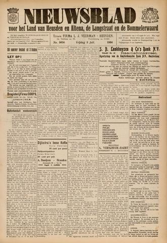 Nieuwsblad het land van Heusden en Altena de Langstraat en de Bommelerwaard 1936-07-03