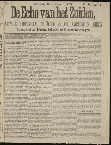 Echo van het Zuiden 1878-01-06