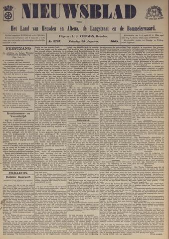 Nieuwsblad het land van Heusden en Altena de Langstraat en de Bommelerwaard 1908-08-29