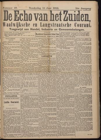 Echo van het Zuiden 1916-06-15