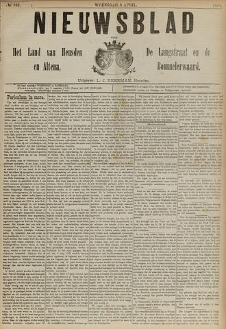 Nieuwsblad het land van Heusden en Altena de Langstraat en de Bommelerwaard 1891-04-08
