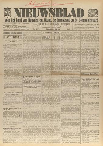 Nieuwsblad het land van Heusden en Altena de Langstraat en de Bommelerwaard 1941-07-23