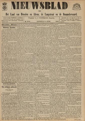 Nieuwsblad het land van Heusden en Altena de Langstraat en de Bommelerwaard 1901-06-08
