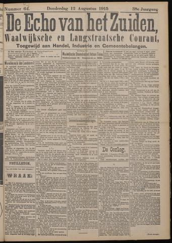Echo van het Zuiden 1915-08-12