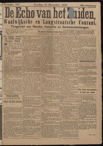Echo van het Zuiden 1915-12-19