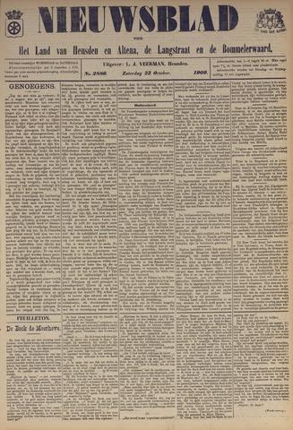Nieuwsblad het land van Heusden en Altena de Langstraat en de Bommelerwaard 1909-10-23