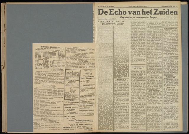 Echo van het Zuiden 1946-06-11