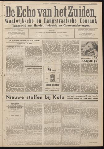 Echo van het Zuiden 1938-09-10