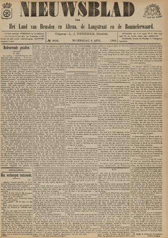 Nieuwsblad het land van Heusden en Altena de Langstraat en de Bommelerwaard 1902-08-06