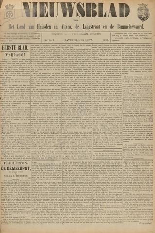 Nieuwsblad het land van Heusden en Altena de Langstraat en de Bommelerwaard 1895-09-28