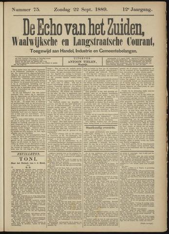 Echo van het Zuiden 1889-09-22