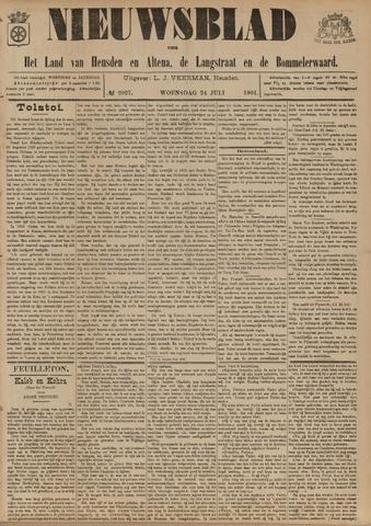Nieuwsblad het land van Heusden en Altena de Langstraat en de Bommelerwaard 1901-07-24