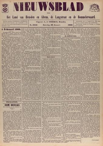 Nieuwsblad het land van Heusden en Altena de Langstraat en de Bommelerwaard 1909-01-30