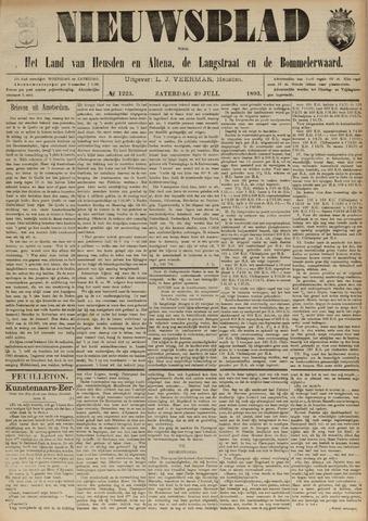 Nieuwsblad het land van Heusden en Altena de Langstraat en de Bommelerwaard 1893-07-29