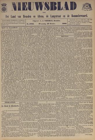 Nieuwsblad het land van Heusden en Altena de Langstraat en de Bommelerwaard 1909-10-20