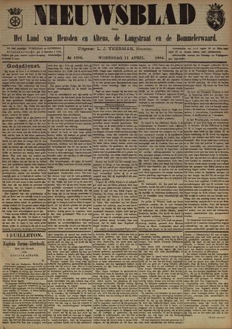 Nieuwsblad het land van Heusden en Altena de Langstraat en de Bommelerwaard 1894-04-11