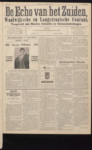Echo van het Zuiden 1938-08-31