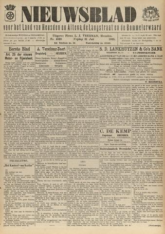 Nieuwsblad het land van Heusden en Altena de Langstraat en de Bommelerwaard 1925-07-31
