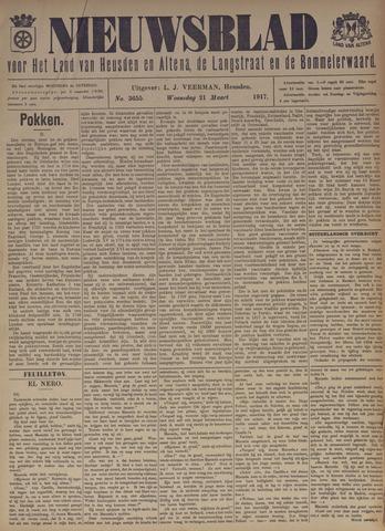 Nieuwsblad het land van Heusden en Altena de Langstraat en de Bommelerwaard 1917-03-21