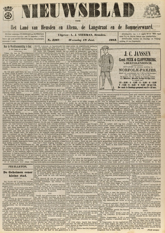 Nieuwsblad het land van Heusden en Altena de Langstraat en de Bommelerwaard 1913-06-18