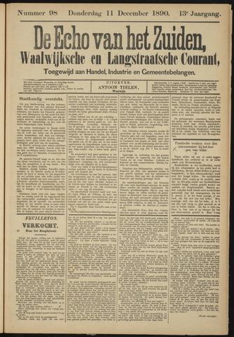 Echo van het Zuiden 1890-12-11