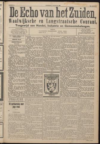 Echo van het Zuiden 1925-08-05