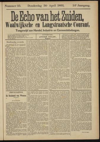 Echo van het Zuiden 1891-04-30