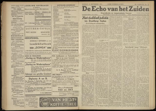 Echo van het Zuiden 1946-09-10