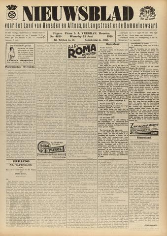Nieuwsblad het land van Heusden en Altena de Langstraat en de Bommelerwaard 1928-06-13