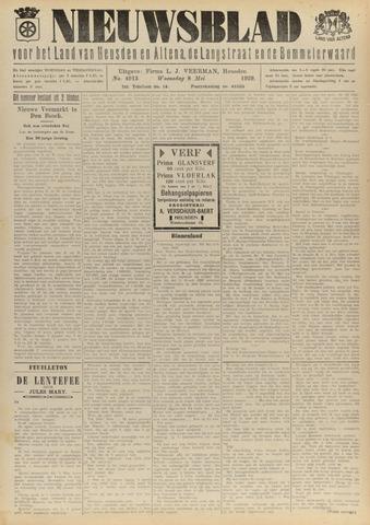 Nieuwsblad het land van Heusden en Altena de Langstraat en de Bommelerwaard 1929-05-08