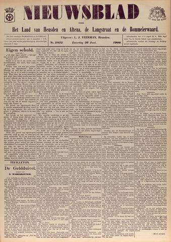 Nieuwsblad het land van Heusden en Altena de Langstraat en de Bommelerwaard 1909-06-26