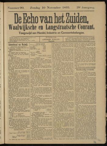 Echo van het Zuiden 1895-11-10