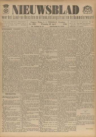 Nieuwsblad het land van Heusden en Altena de Langstraat en de Bommelerwaard 1924-04-23