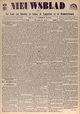 Nieuwsblad het land van Heusden en Altena de Langstraat en de Bommelerwaard 1909-04-21