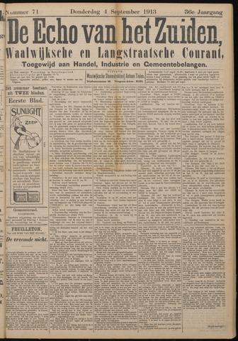 Echo van het Zuiden 1913-09-04