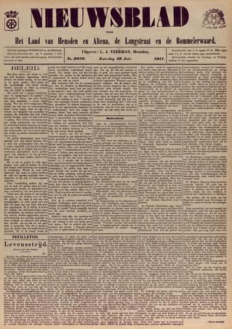 Nieuwsblad het land van Heusden en Altena de Langstraat en de Bommelerwaard 1911-07-29