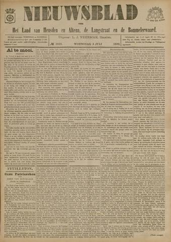Nieuwsblad het land van Heusden en Altena de Langstraat en de Bommelerwaard 1899-07-05
