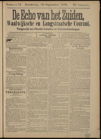 Echo van het Zuiden 1898-09-22