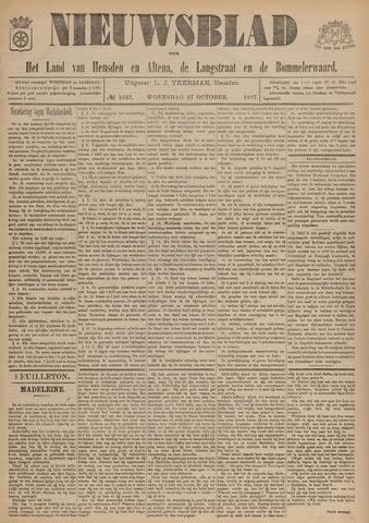 Nieuwsblad het land van Heusden en Altena de Langstraat en de Bommelerwaard 1897-10-27