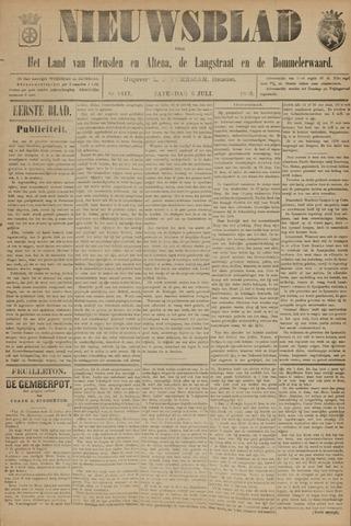 Nieuwsblad het land van Heusden en Altena de Langstraat en de Bommelerwaard 1895-07-06