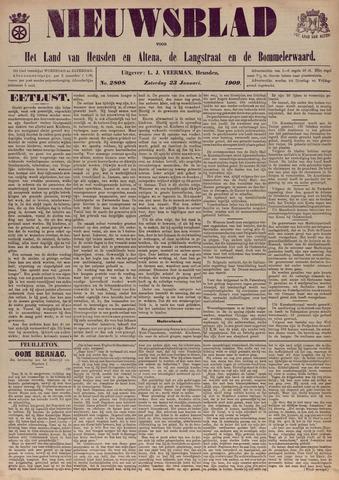 Nieuwsblad het land van Heusden en Altena de Langstraat en de Bommelerwaard 1909-01-23
