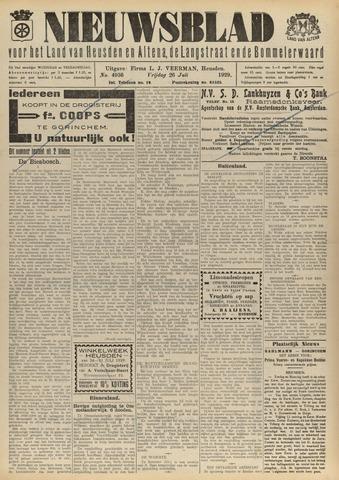 Nieuwsblad het land van Heusden en Altena de Langstraat en de Bommelerwaard 1929-07-26