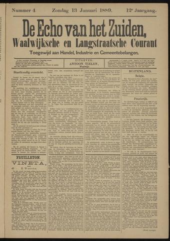 Echo van het Zuiden 1889-01-13
