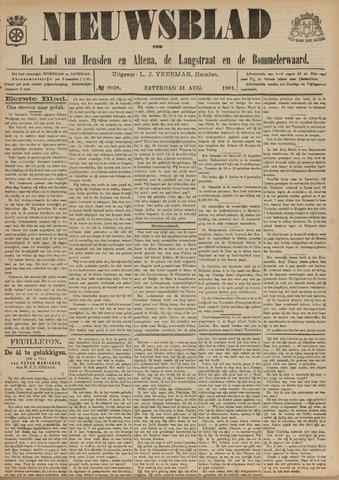 Nieuwsblad het land van Heusden en Altena de Langstraat en de Bommelerwaard 1901-08-31