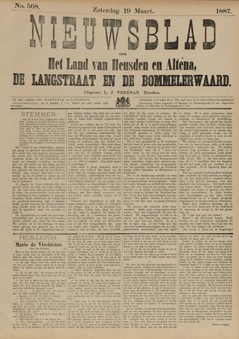 Nieuwsblad het land van Heusden en Altena de Langstraat en de Bommelerwaard 1887-03-19